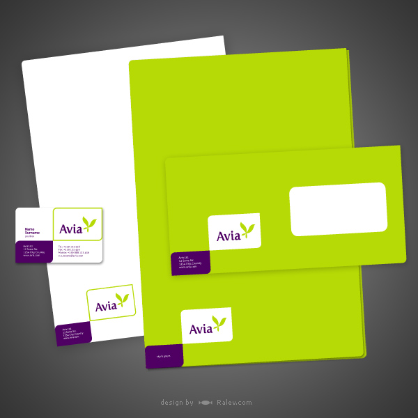aviaairlines-stationery-design