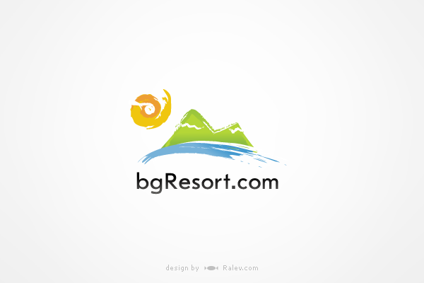 bgresort-logo-design