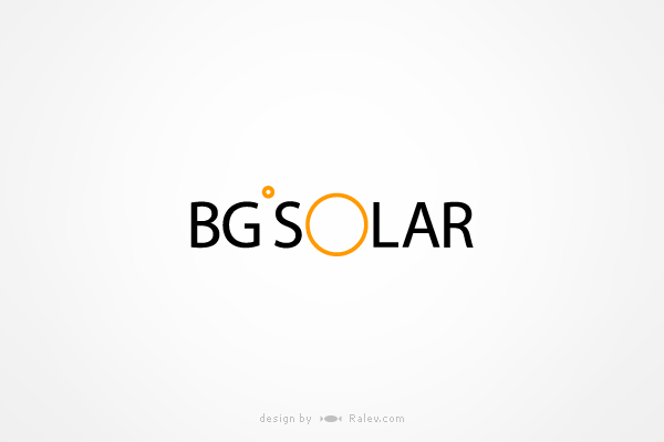 solar panels logo design