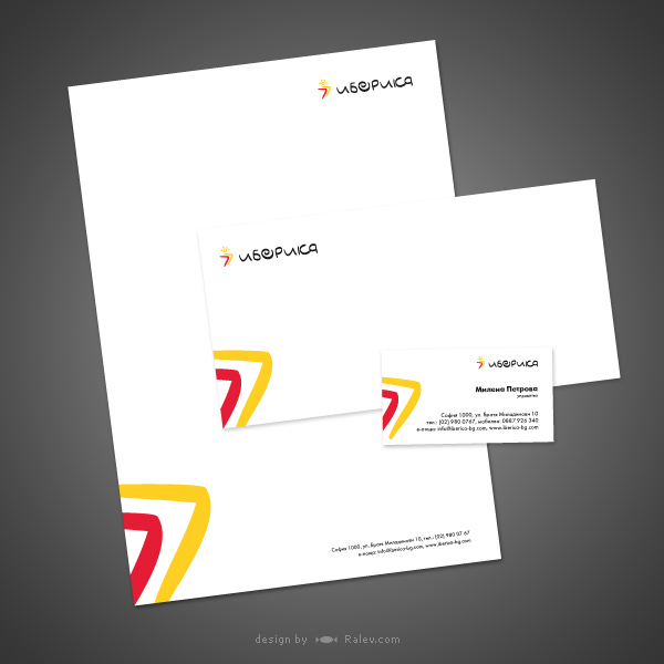 iberica-stationery-design