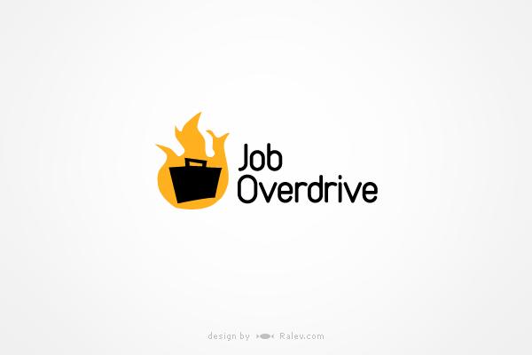 joboverdrive-logo-design