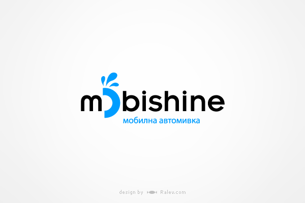 mobishine-logo-design
