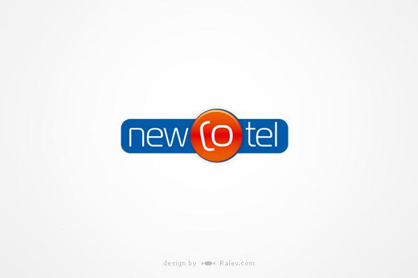 newcotel-logo-design