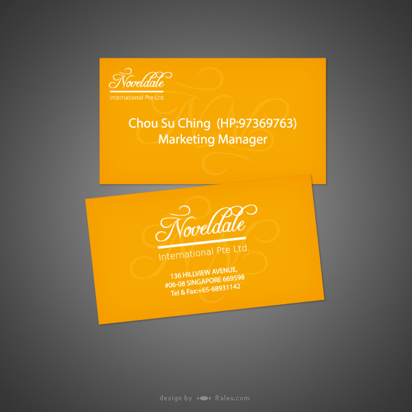 novedale-business-card