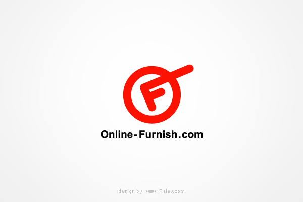 onlinefurnish-logo-design