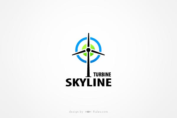 skylineturbine-logo-design