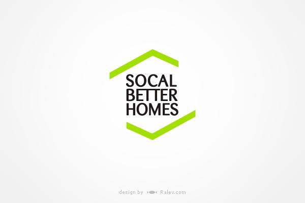 socalbetterhomes-logo-design