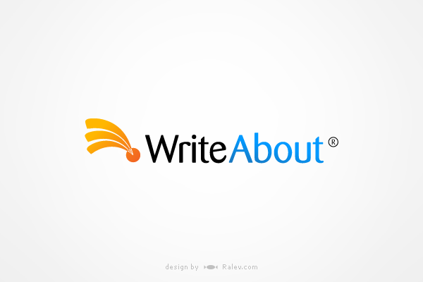 writeabout-logo-design