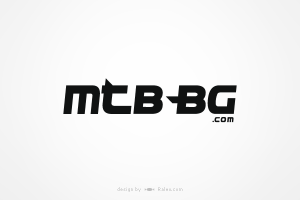 mountain bike website logo design