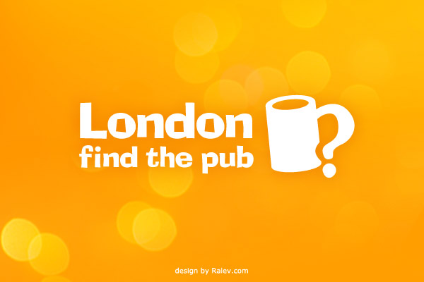 find the pub app logo design