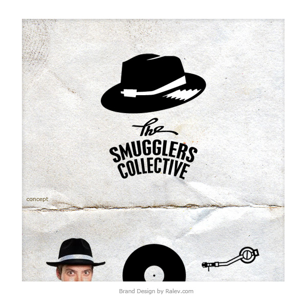 The Smugglers Collective Swing Logo Design Ralev Com