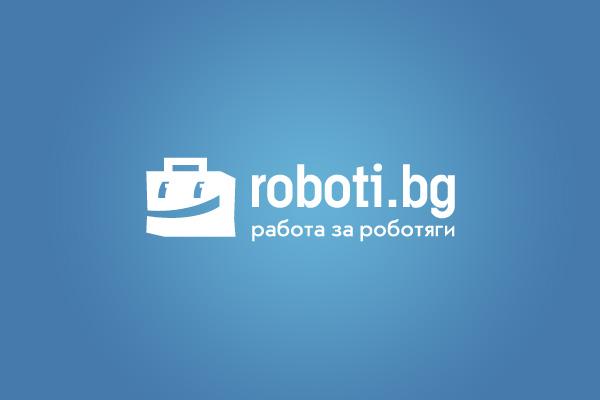 Roboti.bg : Logo Design