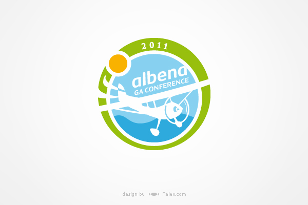 logo design for aviation conference
