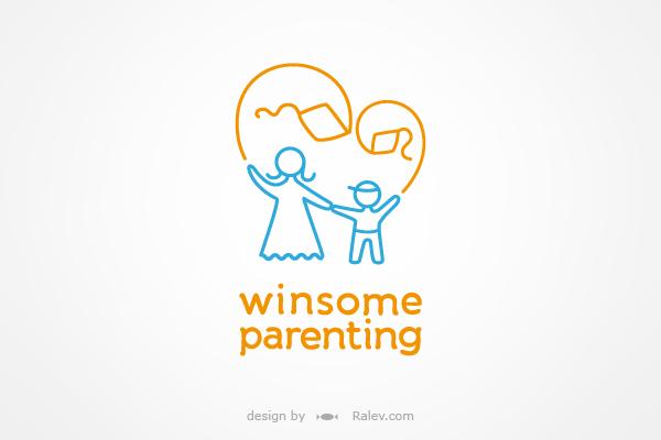 Winsome Parenting logo design