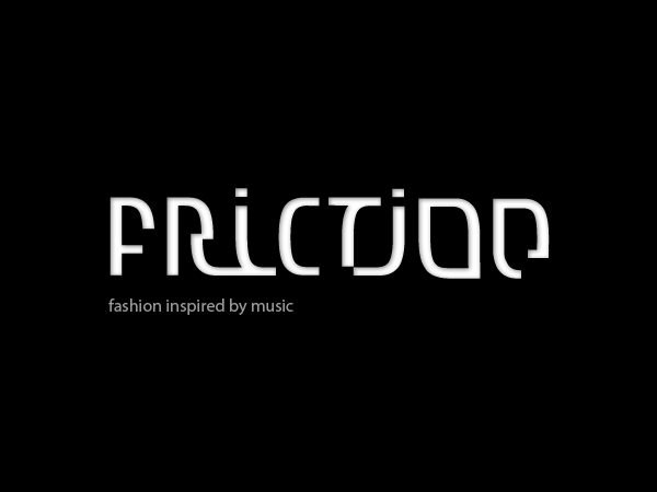 Friction Code - fashion branding design