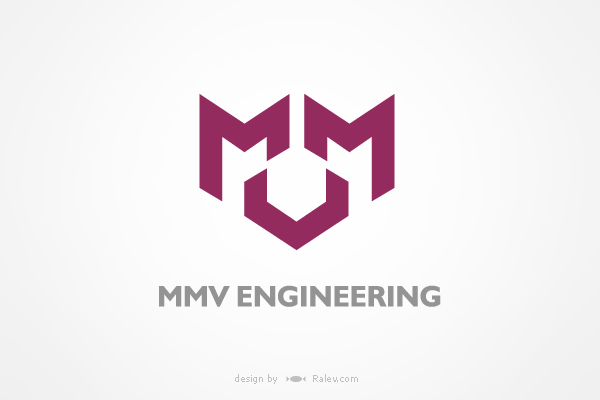 MMV engineering - logo design