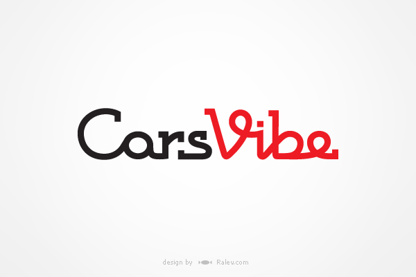 Cars Vibe - logo design for phone app