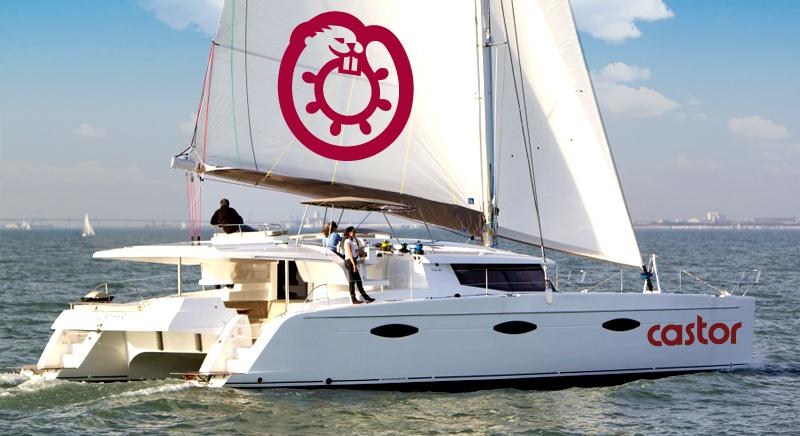 Castor - yacht logo design