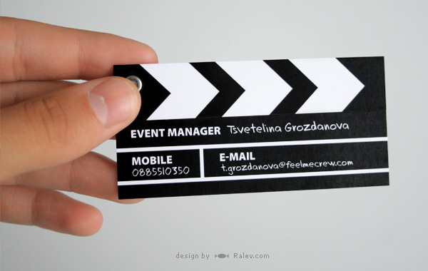 creative studio business card design
