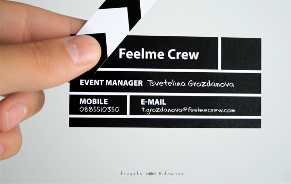 creative studio business card design
