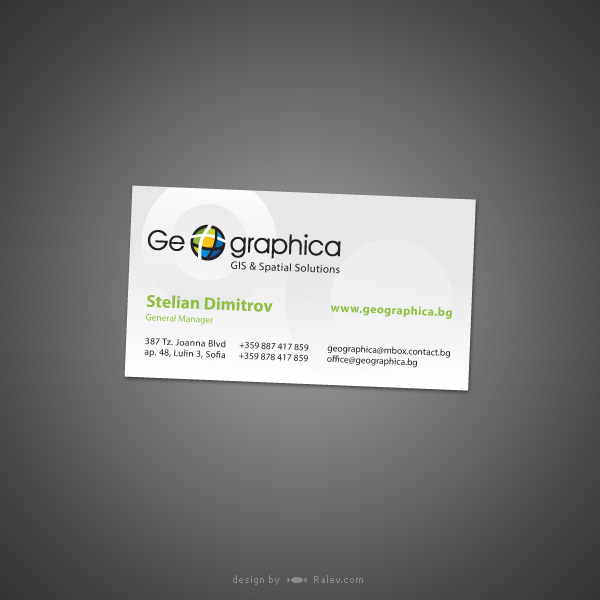 consultancy planning business card