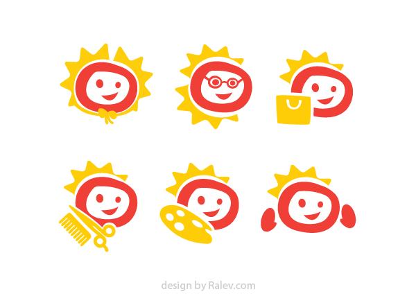 sub brands logo design