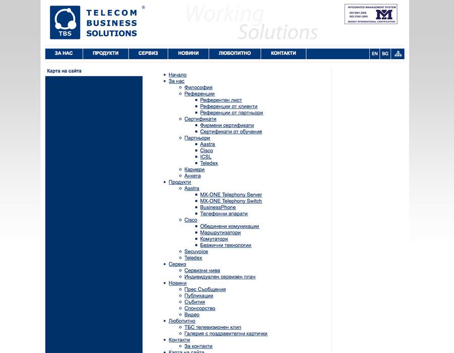 company web design