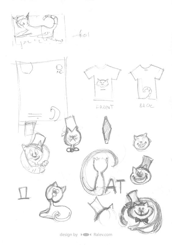 brand identity sketches