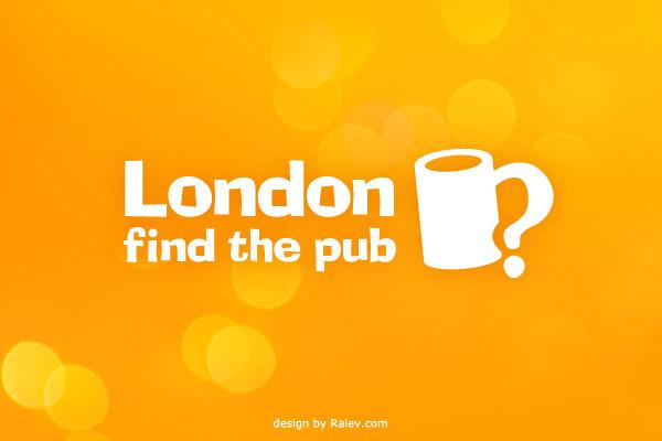 find pub app logo design