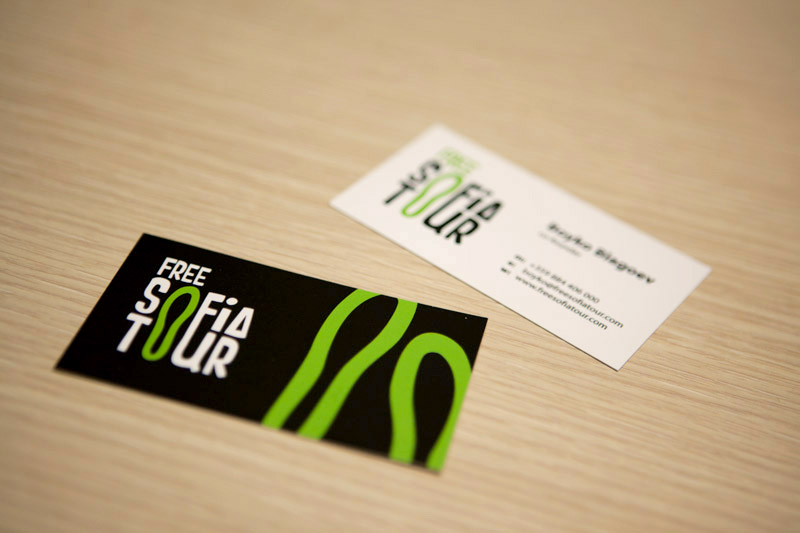 free tour business card design