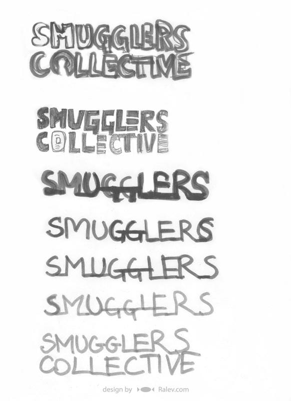 logotype design sketches