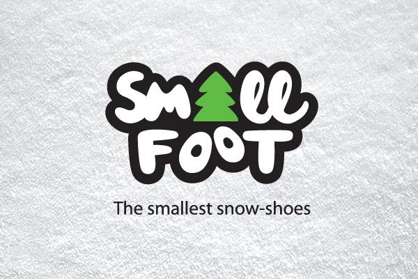 snowshoes logo design