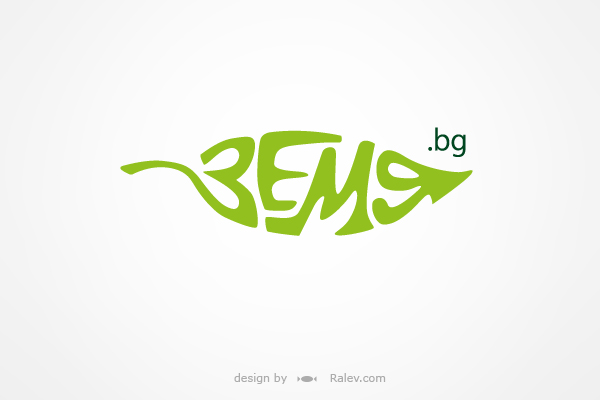 leaf logotype variation