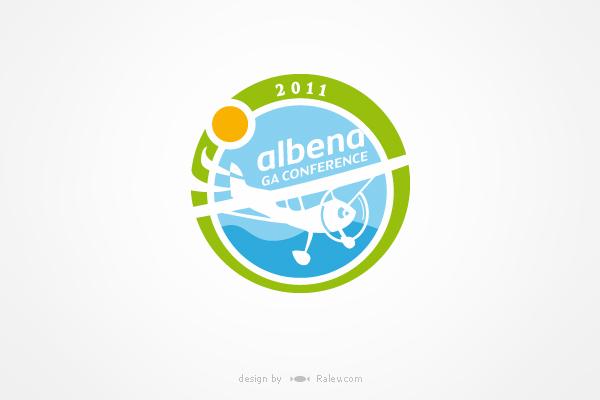 aviation conference logo design