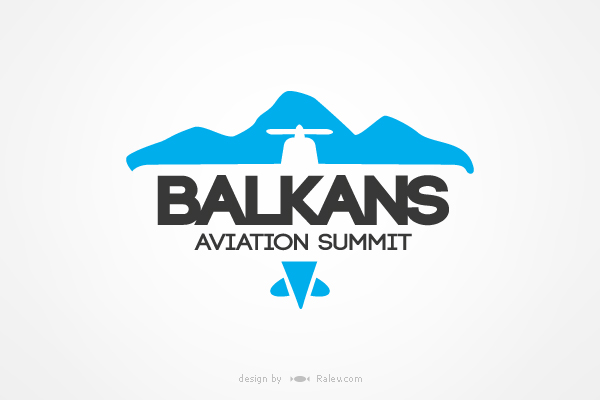 aviation summit branding and logo design