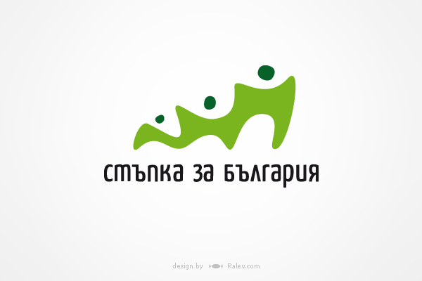logo design in Cyrillic