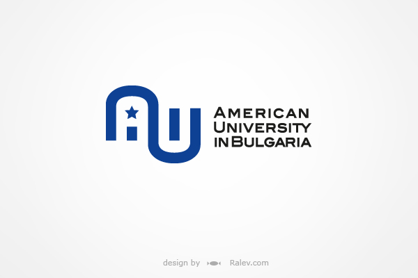 American University Bulgaria logo design