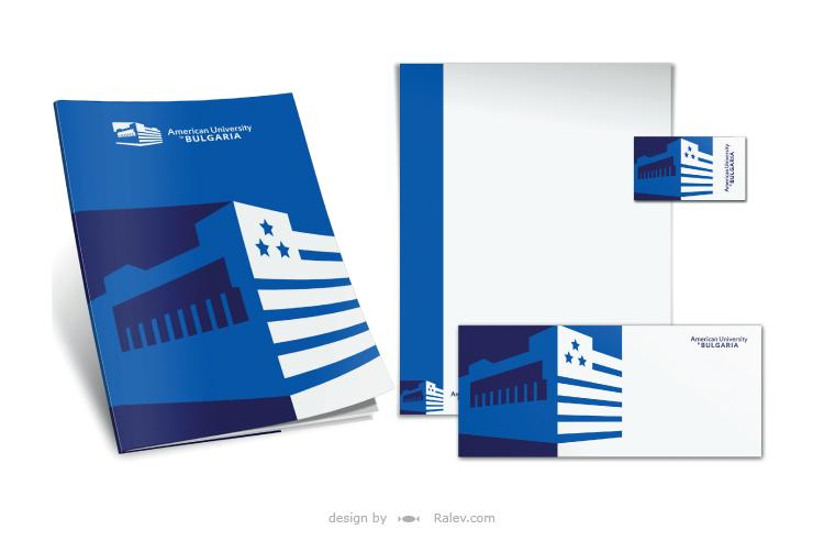 American University print design