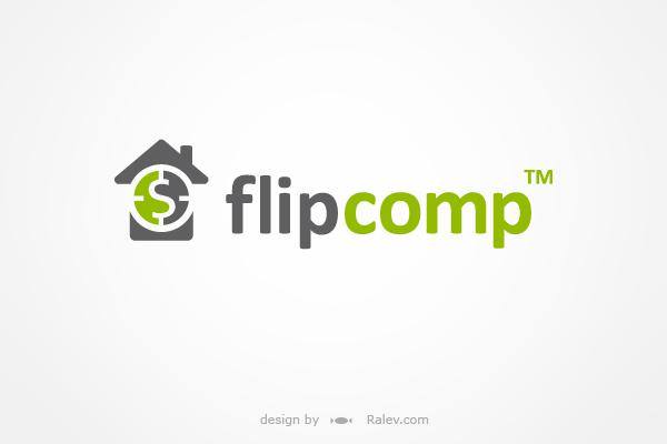 FlipComp Logo Brand Design