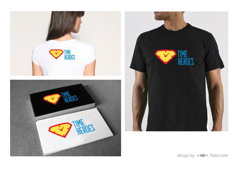 Time Heroes logo variation