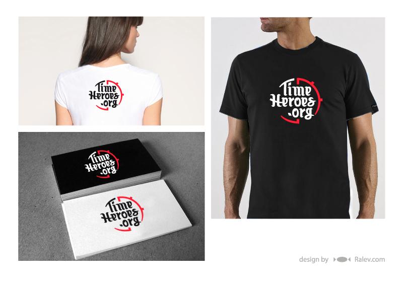 Time Heroes logo design branding