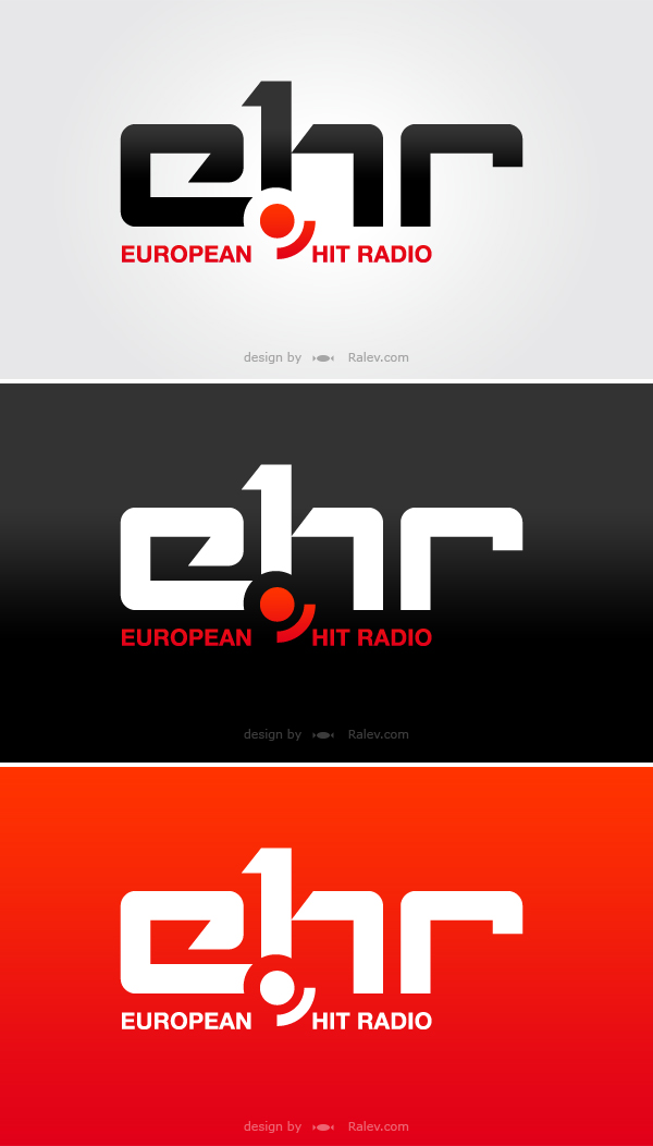 EHR - logo design color versions