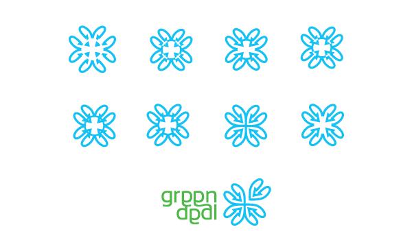 Logo design - flower concept
