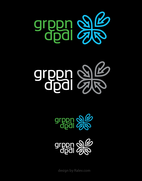 Logo design of green deal