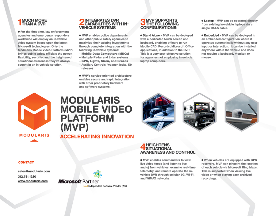 leaflet design branding