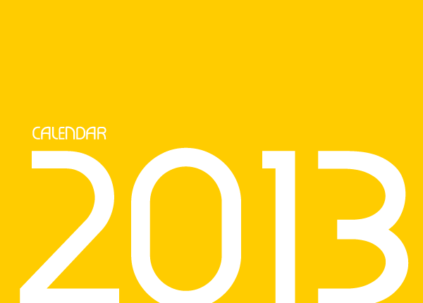 typo experiment calendar design