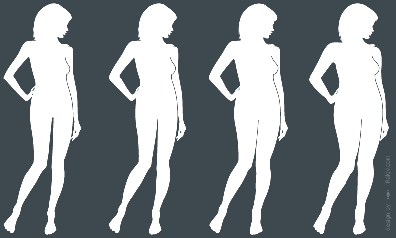 styling network body silhouette designs