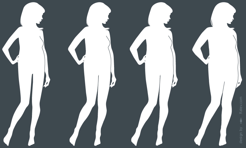 online styling body silhouette designs