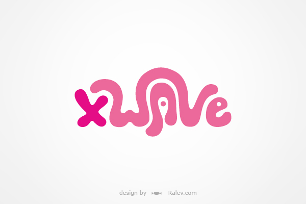 Xwave products - logo redesign