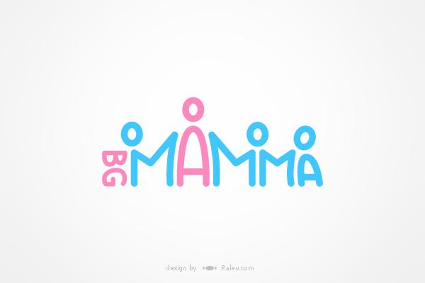 BG-Mamma - logo redesign